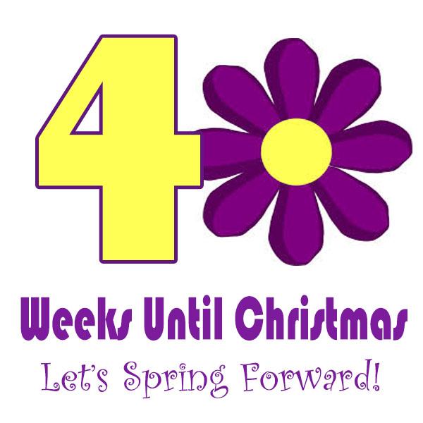40 weeks until christmas