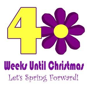 40 Weeks until Christmas!