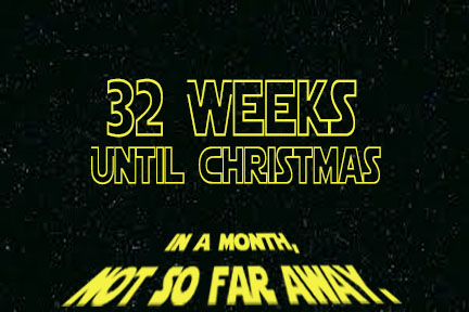 32 weeks until christmas 32 weeks - Weeks Until Christmas