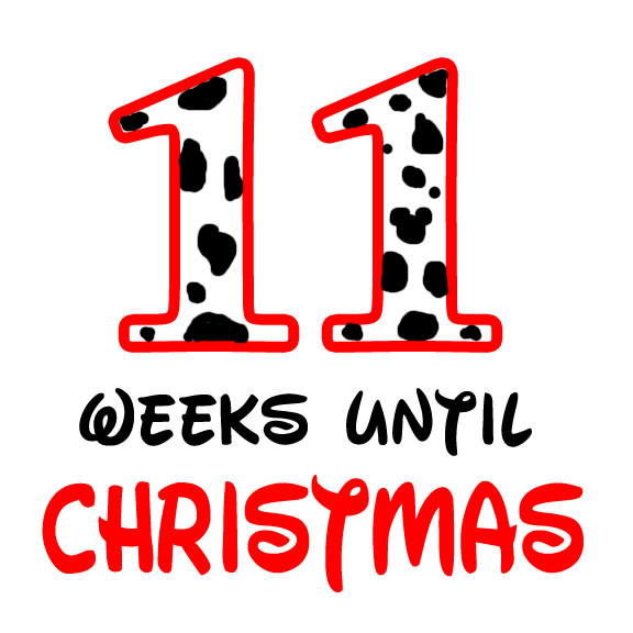 11 weeks until christmas
